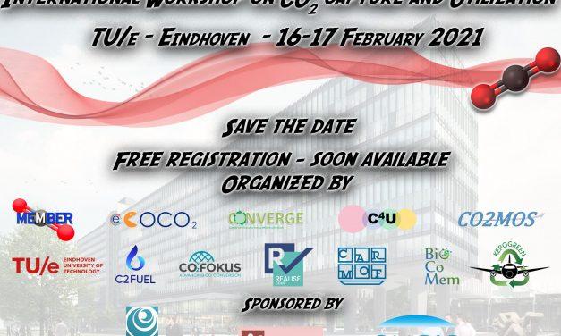International Workshop on CO<sub>2</sub> Capture and Utilization