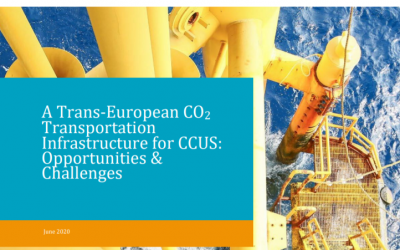 A Trans-European CO2 Transportation Infrastructure for CCUS: Opportunities and Challenges